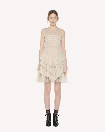 REDValentino Dress Woman QR3VA09Y3UF A03 f