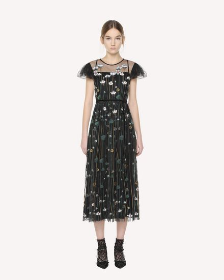 "Tüllkleid mit ""Garden of Metamorphosis""-Stickerei"