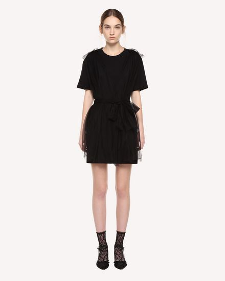 REDValentino Dress Woman QR3MJ08I3YS 0NO f