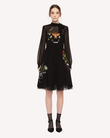 REDValentino Dress Woman QR3VA09R3UD 0NO f