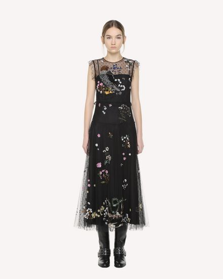 REDValentino Dress Woman QR3VA7551GK 0NO f