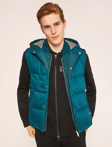 아르마니 익스체인지 Armani Exchange Vest jacket,Green