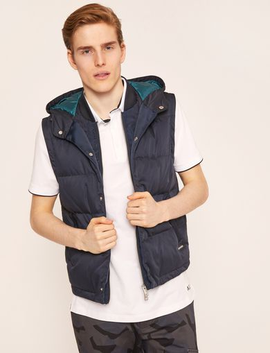 아르마니 익스체인지 Armani Exchange Vest jacket,Navy Blue