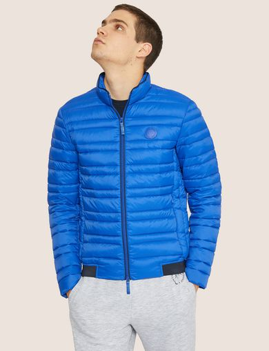 아르마니 익스체인지 Armani Exchange CLASSIC PACKABLE DOWN-FILL PUFFER JACKET,Blue