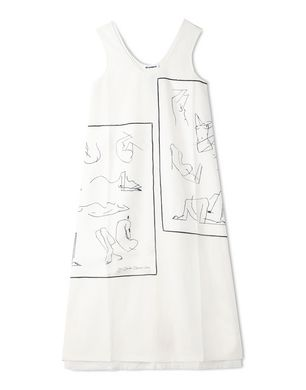 606445d454f160 Kleider Für sie auf Jil Sander Online Store