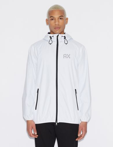 아르마니 익스체인지 Armani Exchange SPORTY JACKET,White