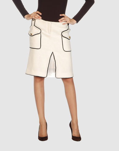 CLASS ROBERTO CAVALLI Women - Skirts - Knee length skirt CLASS ROBERTO CAVALLI on YOOX :  yoox cavalli roberto cavalli skirt