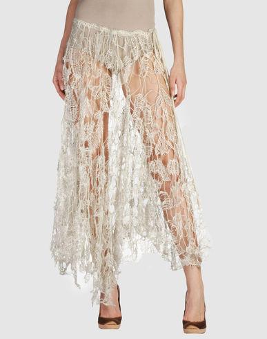 NORIKO ARAKI en YOOX - Long skirt in tatting :  45000 falda larga international costume noriko araki