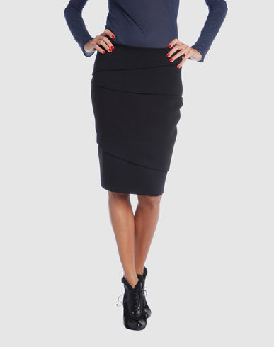 VERSACE Women - Skirts - 3/4 length skirt VERSACE on YOOX :  luxury 34 length skirt yoox versace