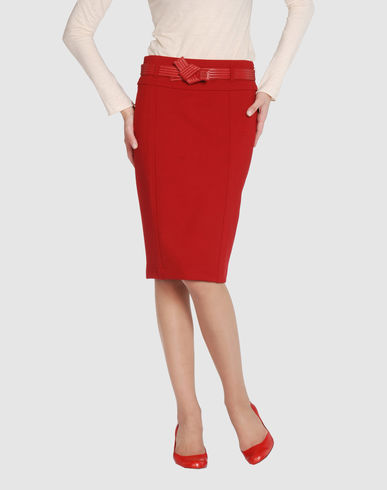 GUCCI Women - Skirts - Knee length skirt GUCCI on YOOX from yoox.com