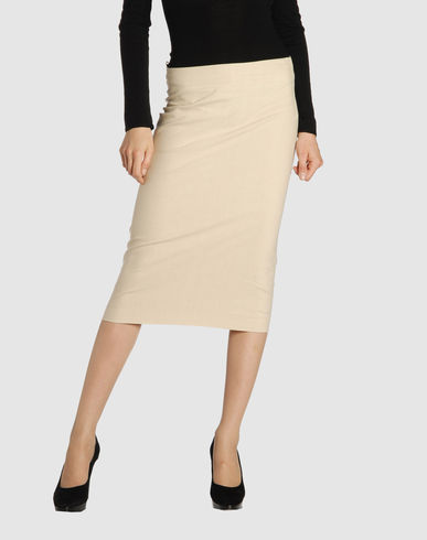 DONNA KARAN Women - Skirts - 3/4 length skirt DONNA KARAN on YOOX :  luxury yoox donna karan clothing