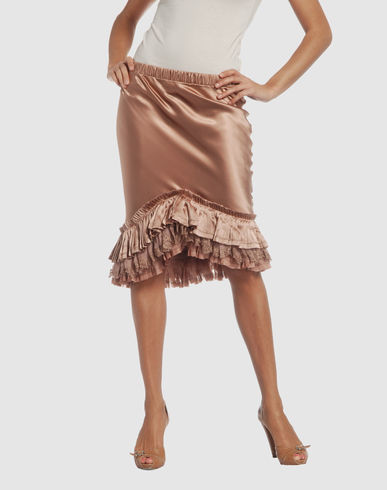 ROBERTO CAVALLI Women - Skirts - 3/4 length skirt ROBERTO CAVALLI on YOOX from yoox.com