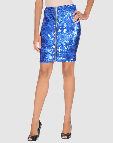 BALMAIN Women - Skirts - Knee length skirt BALMAIN on YOOX United States from yoox.com