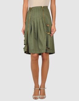 Jo No Fui - Skirts - Knee Length Skirts -