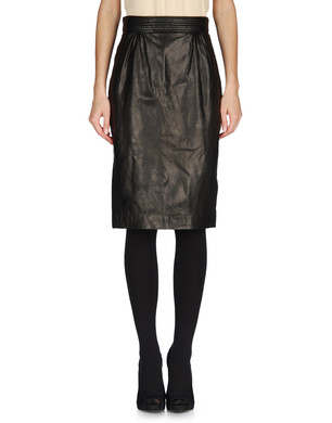 DSQUARED2 Leather skirt D f