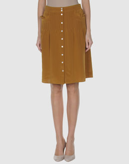 Tibi Skirts Knee Length Skirts