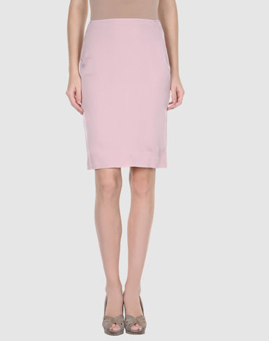 CALVIN KLEIN COLLECTION - Knee length skirt