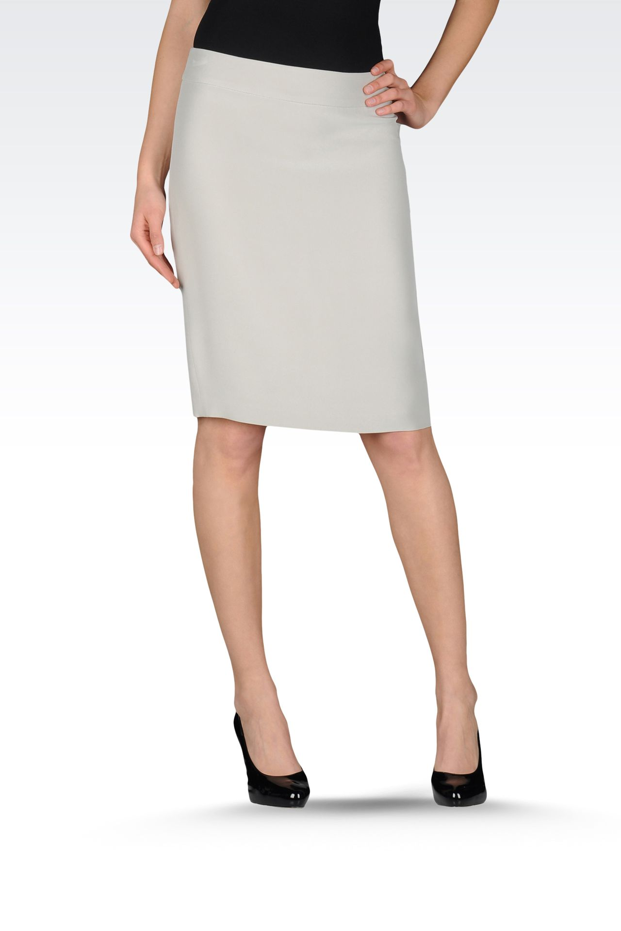 Lastest Knee Length Skater Skirt For Women Kosher Casual