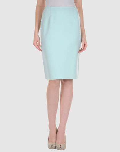 C&#201;LINE - Knee length skirt