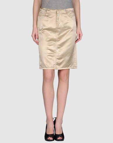 DIESEL - Knee length skirt
