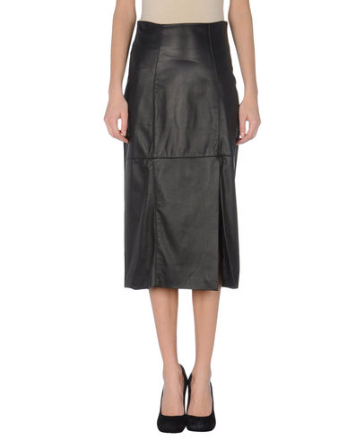 PAOLA FRANI - Leather skirt