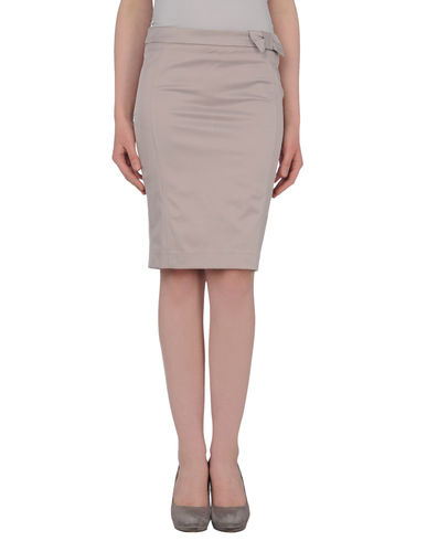 TO-MAY - Knee length skirt