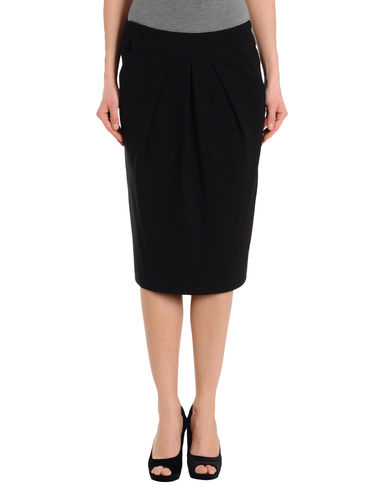 DONNA KARAN COLLECTION - 3/4 length skirt