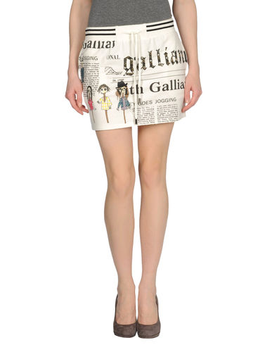 GALLIANO - Mini skirt