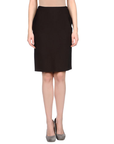 HERVE&#39; L. LEROUX - Knee length skirt
