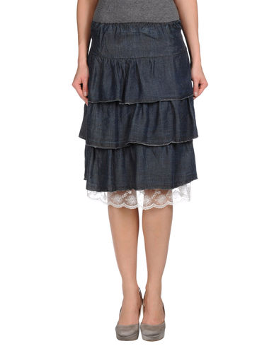 PLEASE - Denim skirt