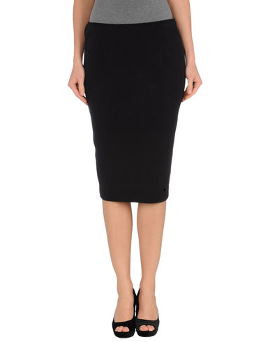 CARVEN - Knee length skirt
