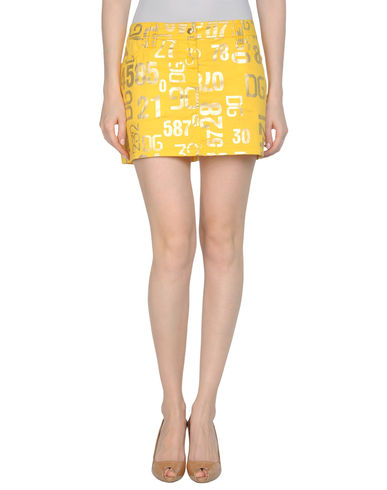 DOLCE & GABBANA BEACHWEAR - Mini skirt