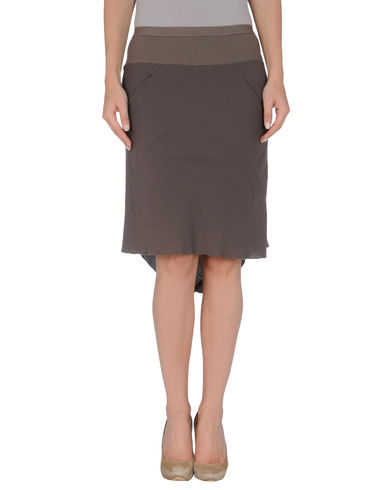 RICK OWENS - Knee length skirt