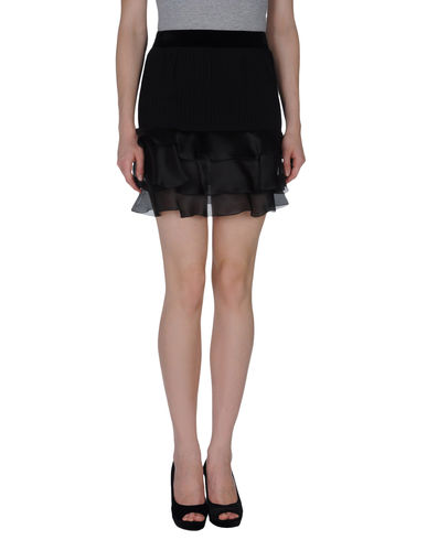 PACO RABANNE - Knee length skirt