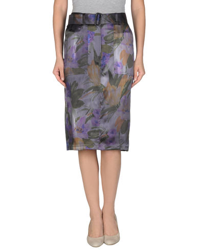 DRIES VAN NOTEN - 3/4 length skirt