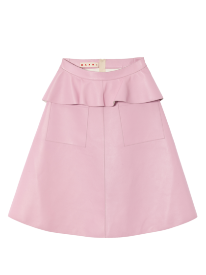 MARNI - Leather Skirt