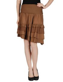 LE COEUR de TWIN-SET SIMONA BARBIERI - Knee length skirt
