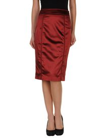 BURBERRY - Knee length skirt