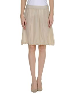 PEGORER Knee length skirts - Item 35189424