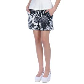 STELLA McCARTNEY, Shorts, Couture-Shorts mit Paisley-Print