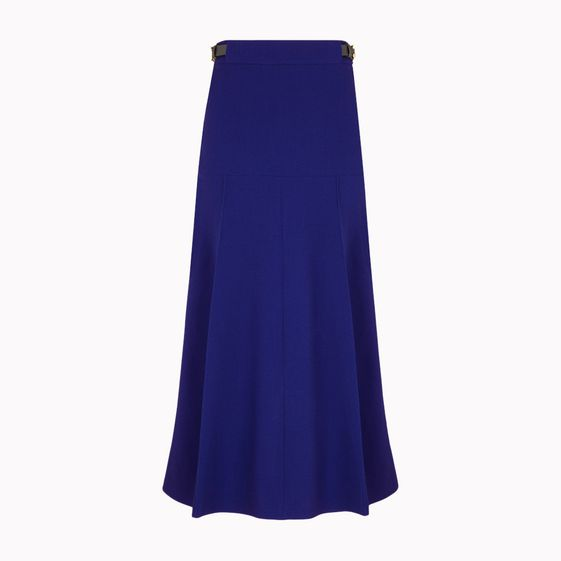 Stella McCartney, Double Face Wool Stretch Renata Belted Skirt