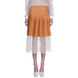 STELLA McCARTNEY, Midi, Cotton Piquet Grafton Skirt