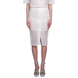 STELLA McCARTNEY, Knee length, Cutwork Embroidery Desiree Skirt