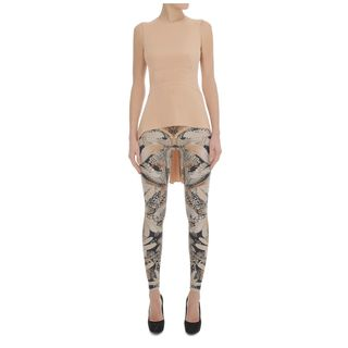 ALEXANDER MCQUEEN, Leggings, Geometric Hummingbird Print Leggings