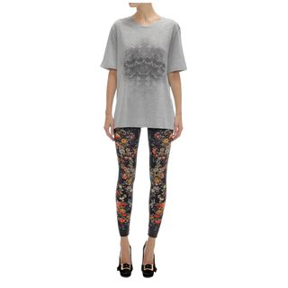ALEXANDER MCQUEEN, Leggings, Floral Print Leggings