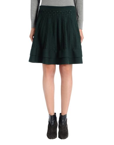 Fine Pleated Knit Skirt