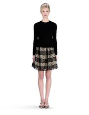 REDValentino - Embroidered skirt