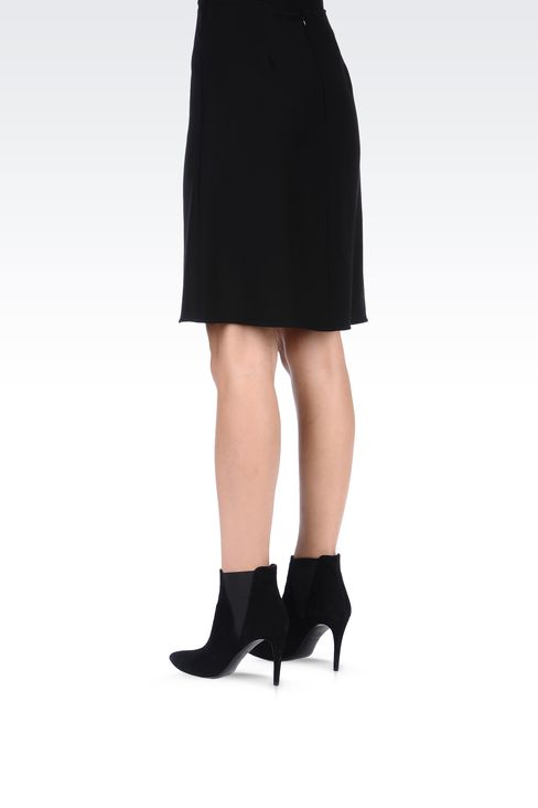 Skirts: Knee length skirts Women by Armani - 3