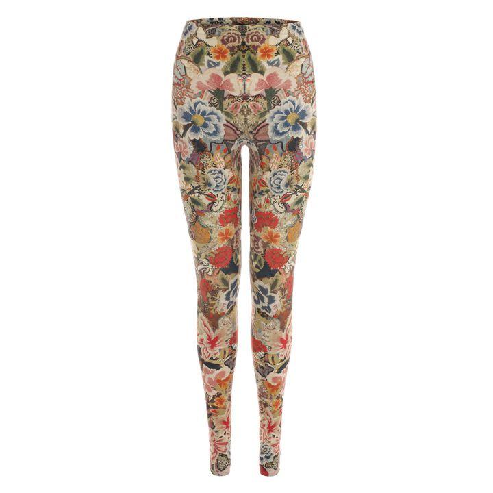 Alexander McQueen, Patchwork Floral Leggings