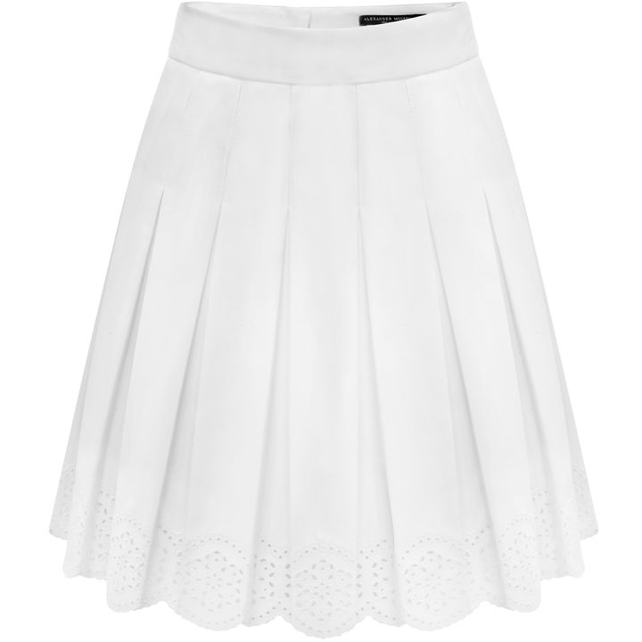 Alexander McQueen, Sangallo Pleated Mini Skirt